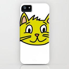 kitten three iPhone Case