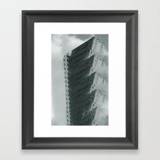 enjoy the climb Framed Art Print