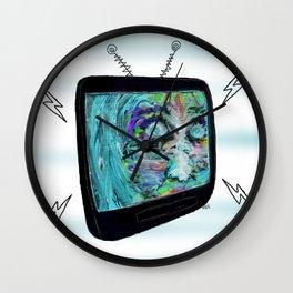 """Late Night TV"" Wall Clock"