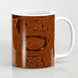 Abstract Art- Brown Art- Sacred Geometry Art- Mom From the Lotus Coffee Mug