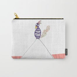 Purple Jimmy Carry-All Pouch