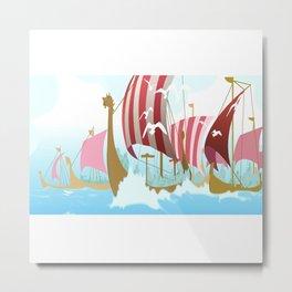 A Viking History No. 3 Metal Print