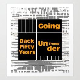 Under Trump Art Print