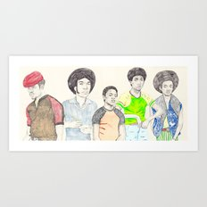 The Get dOWN Art Print