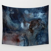 imagerybydianna Wall Tapestries featuring turning and turning by Imagery by dianna