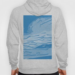 abstract style aurora borealis abswb Hoody