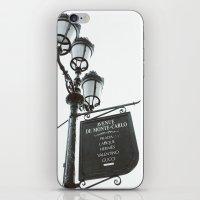 gucci iPhone & iPod Skins featuring Avenue De Monte Carlo by Lara Brambilla