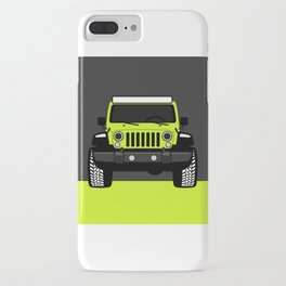 Roxy's Green iPhone Case