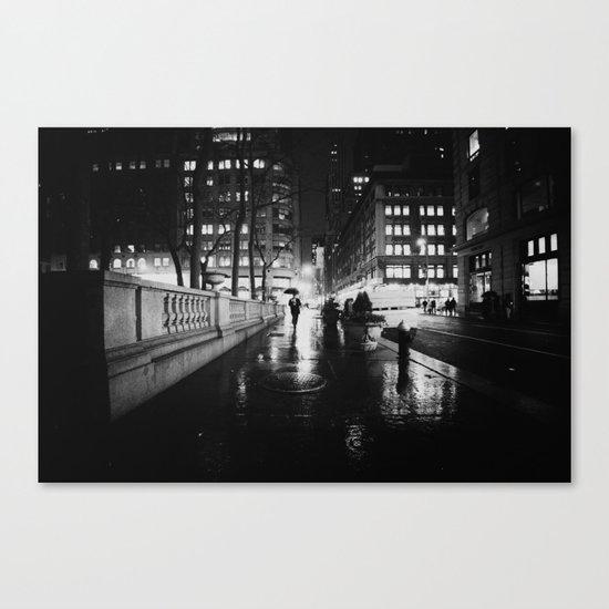 New York City Noir Canvas Print