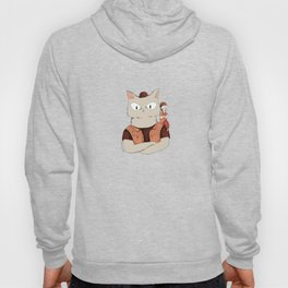 Walter the metal cat Hoody