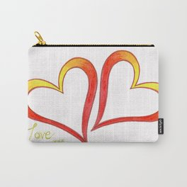 Firery Love Carry-All Pouch