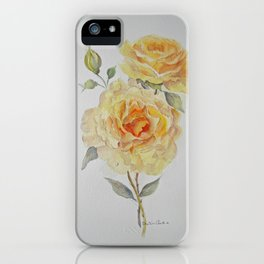 One rose or two iPhone Case