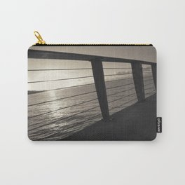 Sunrise On Pier Carry-All Pouch