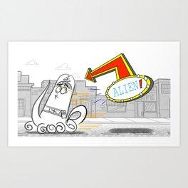 Alien FOP  Art Print