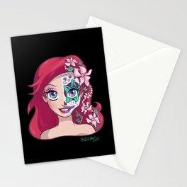 Sugar Skull Series: Underwater Princess Stationery Cards