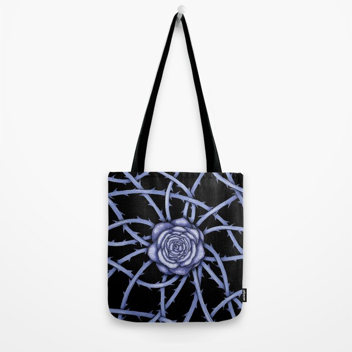 Rose Adversity Art Tote Bag