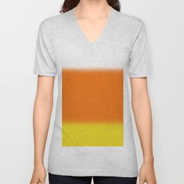 Candy Corn Ombre Unisex V-Neck
