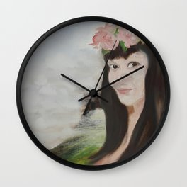 Sha L Wall Clock