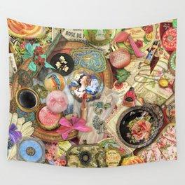 Vintage Vanity Wall Tapestry