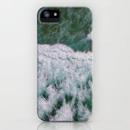 Surf Photography, Beach Wall Art Print, Ocean Water Surfing, Coastal Decor iPhone Case