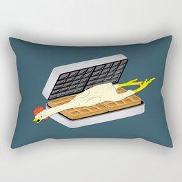 Rubber Chicken & Waffles Rectangular Pillow