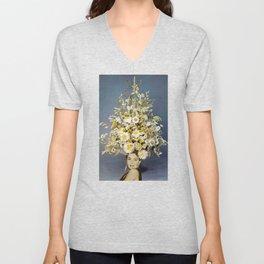 Floral Fashions Unisex V-Neck