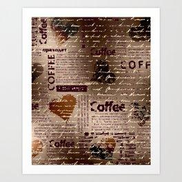 Coffee Art Prints Art Print