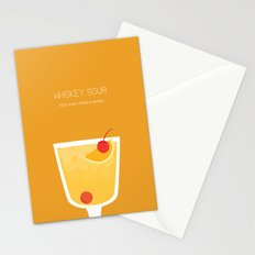 Whiskey Sour - Alcohol Stationery Cards