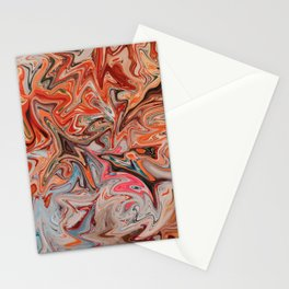 Fireworks in Summer Stationery Cards
