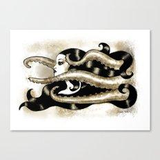 Encre Marine Canvas Print
