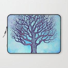 Tree of Life Blue Zen Design Laptop Sleeve