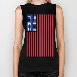 Peace, Joy and harmony in a troubled world. Biker Tank