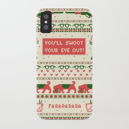 A Christmas Sweater iPhone Case