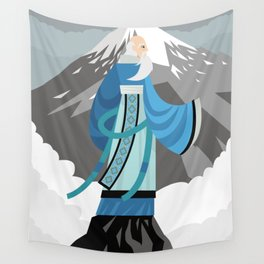 great asian chinese thinker philosopher Wall Tapestry