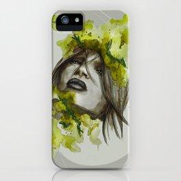 Eva by carographic, Carolyn Mielke iPhone Case