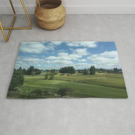 Cotton Ball Clouds Rug