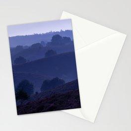 Lavender Sunrise in Nature | Netherlands Holland | Blue purple photo | Fine Art Travel Photography Stationery Cards