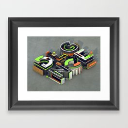 DLGNCE Framed Art Print