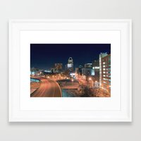 baltimore Framed Art Prints featuring Baltimore by Andrew Mangum