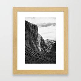 Yosemite El Capitan Framed Art Print