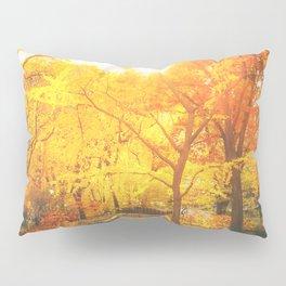 New York City - Autumn Sunset Pillow Sham