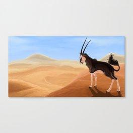 Arid Canvas Print