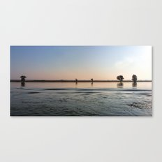 River Danube Early Morning Canvas Print