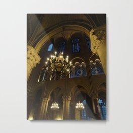 Cathedrale Notre-Dame de Paris Metal Print