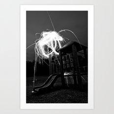 Esplode Art Print