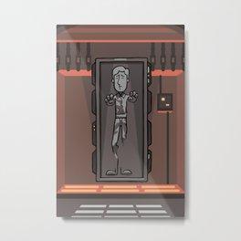 EP6 : Han Solo in Carbonite Metal Print
