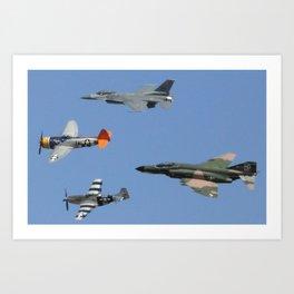 Heritage Flight Art Print