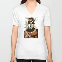 tim shumate V-neck T-shirts featuring Tim by Shop 5