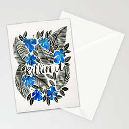 Killin' It – Tropical Blue Stationery Cards