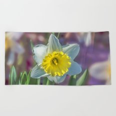 Narcissus Beach Towel